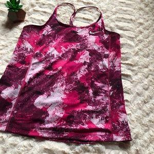 Nike Pink Workout Tank Top NWOT